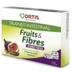 ORTIS FRUITS & FIBRES Cube à mâcher transit facile B/12 à Libourne