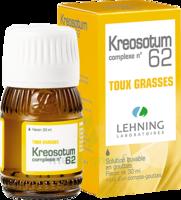 Lehning Kreosotum Complexe N°62 Solution Buvable En Gouttes Fl/30ml à Libourne