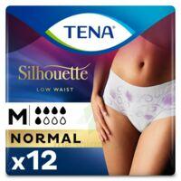 Tena Lady Silhouette Slip Absorbant Blanc Normal Médium Paquet/12 à Libourne