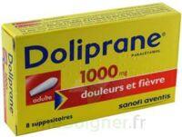 Doliprane 1000 Mg Suppositoires Adulte 2plq/4 (8) à Libourne