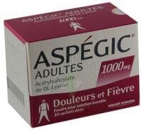 Aspegic Adultes 1000 Mg, Poudre Pour Solution Buvable En Sachet-dose 15 à Libourne