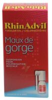 RHINADVIL MAUX DE GORGE TIXOCORTOL/CHLORHEXIDINE, suspension pour pulvérisation buccale à Libourne