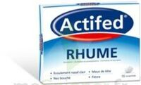 ACTIFED RHUME, comprimé à Libourne