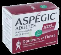 ASPEGIC ADULTES 1000 mg, poudre pour solution buvable en sachet-dose 30 à Libourne