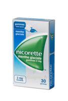 NICORETTE 2 mg Gom à mâcher médic sans sucre menthe glaciale Plq/30gom à Libourne
