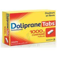 Dolipranetabs 1000 Mg Comprimés Pelliculés Plq/8 à Libourne