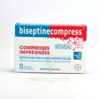 Biseptinecompress Compressses Impregnees, Bt 8 à Libourne
