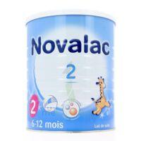 NOVALAC LAIT 2, 6-12 mois BOITE 800G à Libourne
