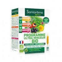 Santarome Bio Programme Ultra Minceur Solution Buvable 30 Ampoules/10ml à Libourne
