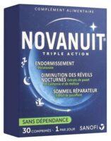 Novanuit Triple Action Comprimés B/30 à Libourne