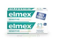 ELMEX SENSITIVE DENTIFRICE, tube 75 ml, pack 2 à Libourne