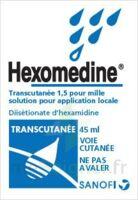 HEXOMEDINE TRANSCUTANEE 1,5 POUR MILLE, solution pour application locale à Libourne