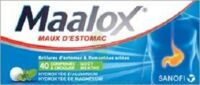 MAALOX HYDROXYDE D'ALUMINIUM/HYDROXYDE DE MAGNESIUM 400 mg/400 mg Cpr à croquer maux d'estomac Plq/40 à Libourne