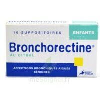 BRONCHORECTINE AU CITRAL ENFANTS, suppositoire à Libourne