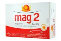 MAG 2 SANS SUCRE 122 mg, solution buvable en ampoule édulcoré à la saccharine sodique à Libourne