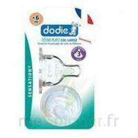 Dodie Sensation+ Tétine Plate Débit 2 Silicone 0-6mois à Libourne
