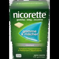 Nicorette 2 Mg Gom à Mâcher Médic Sans Sucre Menthe Fraîche Plq/105gom à Libourne