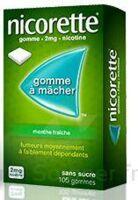 Nicorette 2 Mg Gom à Mâcher Médic Sans Sucre Menthe Fraîche Plq/30gom à Libourne