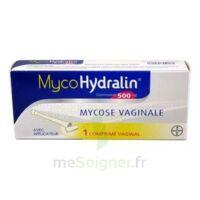 MYCOHYDRALIN 500 mg, comprimé vaginal à Libourne