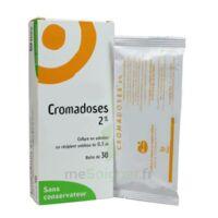 CROMADOSES 2 POUR CENT, collyre en solution en récipient unidose à Libourne