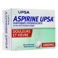 Aspirine Upsa Tamponnee Effervescente 1000 Mg, Comprimé Effervescent à Libourne