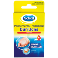 Scholl Pansements Coricides Durillons à Libourne