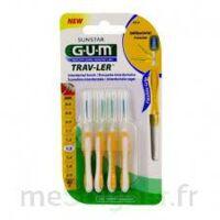 Gum Trav - Ler, 1,3 Mm, Manche Jaune , Blister 4 à Libourne