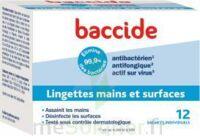 Baccide Lingette désinfectante mains & surface 12 Pochettes à Libourne