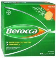 Berocca Comprimés effervescents sans sucre T/60 à Libourne