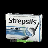 Strepsils lidocaïne Pastilles Plq/24 à Libourne