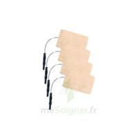 Stimex Electrode Rectangulaire électrostimulation 50x90mm B/4 à Libourne