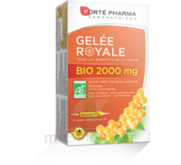 Forte Pharma Gelée royale bio 2000 mg Solution buvable 20 Ampoules/15ml à Libourne