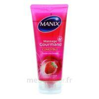 Manix Gel Comestible De Massage Fraise 200ml à Libourne