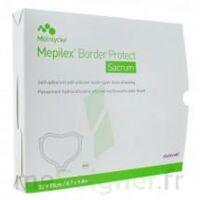 Mepilex Border Sacrum Protect Pansement Hydrocellulaire Siliconé 22x25cm B/10 à Libourne