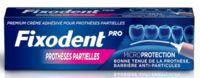 Fixodent Pro Crème Adhésive Pour Prothèse Partielle T/40g à Libourne