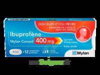 Ibuprofene Mylan Conseil 400mg, Comprimés Pelliculés à Libourne