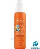 Avène Eau Thermale Solaire Spray Enfant 50+ 200ml à Libourne