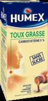 Humex 5 % Solution Buvable Expectorant Sans Sucre Adulte Fl/250ml à Libourne