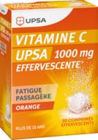 Vitamine C Upsa Effervescente 1000 Mg, Comprimé Effervescent à Libourne